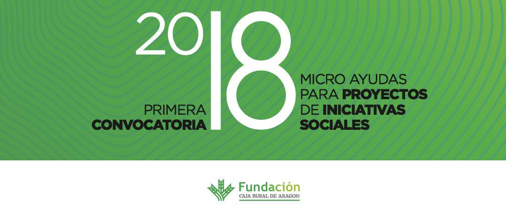Las 10 micro ayudas que la Fundación Caja Rural de Aragón destinará a iniciativas sociales