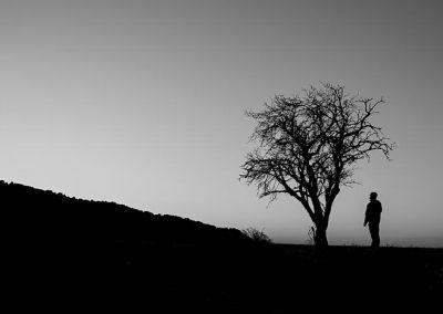 Blanco y negro fotografía