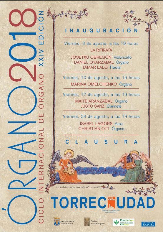 Actividades Musicales: Ciclo Internacional de Órgano Torreciudad.