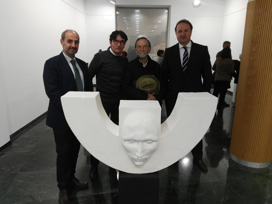 Esculturas Alfonso Ortíz Remacha Sala Bantierra Calatayud