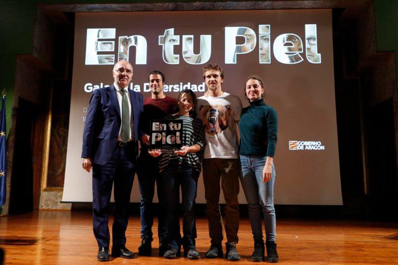 Fundación Caja Rural de Aragón patrocina la Gala de la Diversidad en favor de la integración