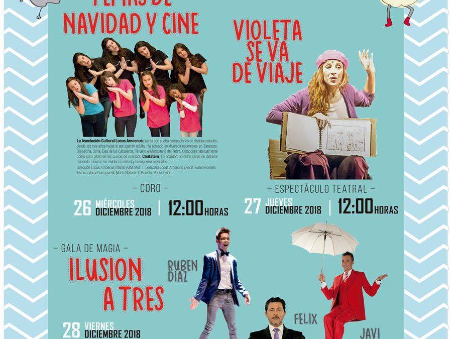 """Música, cuenta cuentos y magia forman """"Navidad en Bantierra"""" un ciclo de actividades puesto en marcha por Fundación Caja Rural de Aragón"""