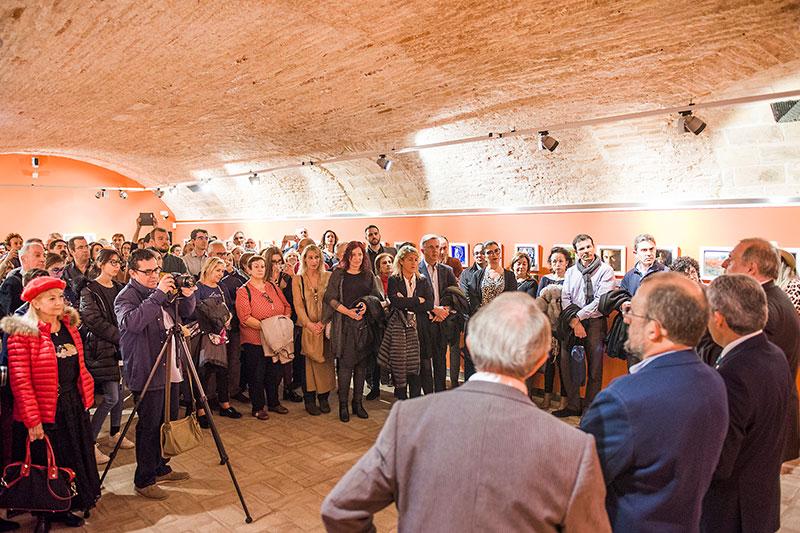Más de 350 personas asisten a la inauguración del la mayor muestra de arte figurativo-realista en el 20 Aniversario de la galería de artelibre de Zaragoza