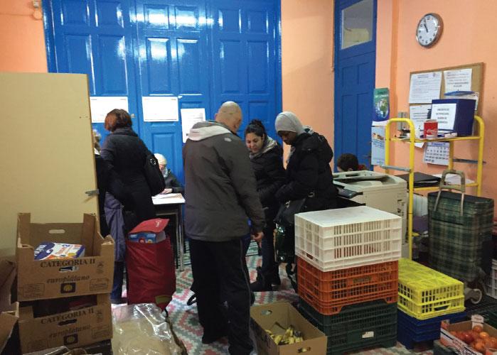 bantierra voluntariado con personas sin recursos