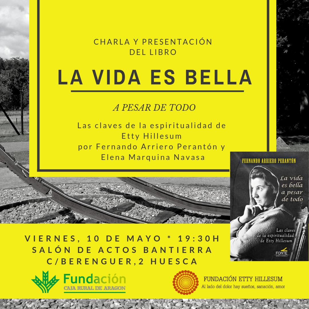 Presentación libro La vida es Bella Huesca