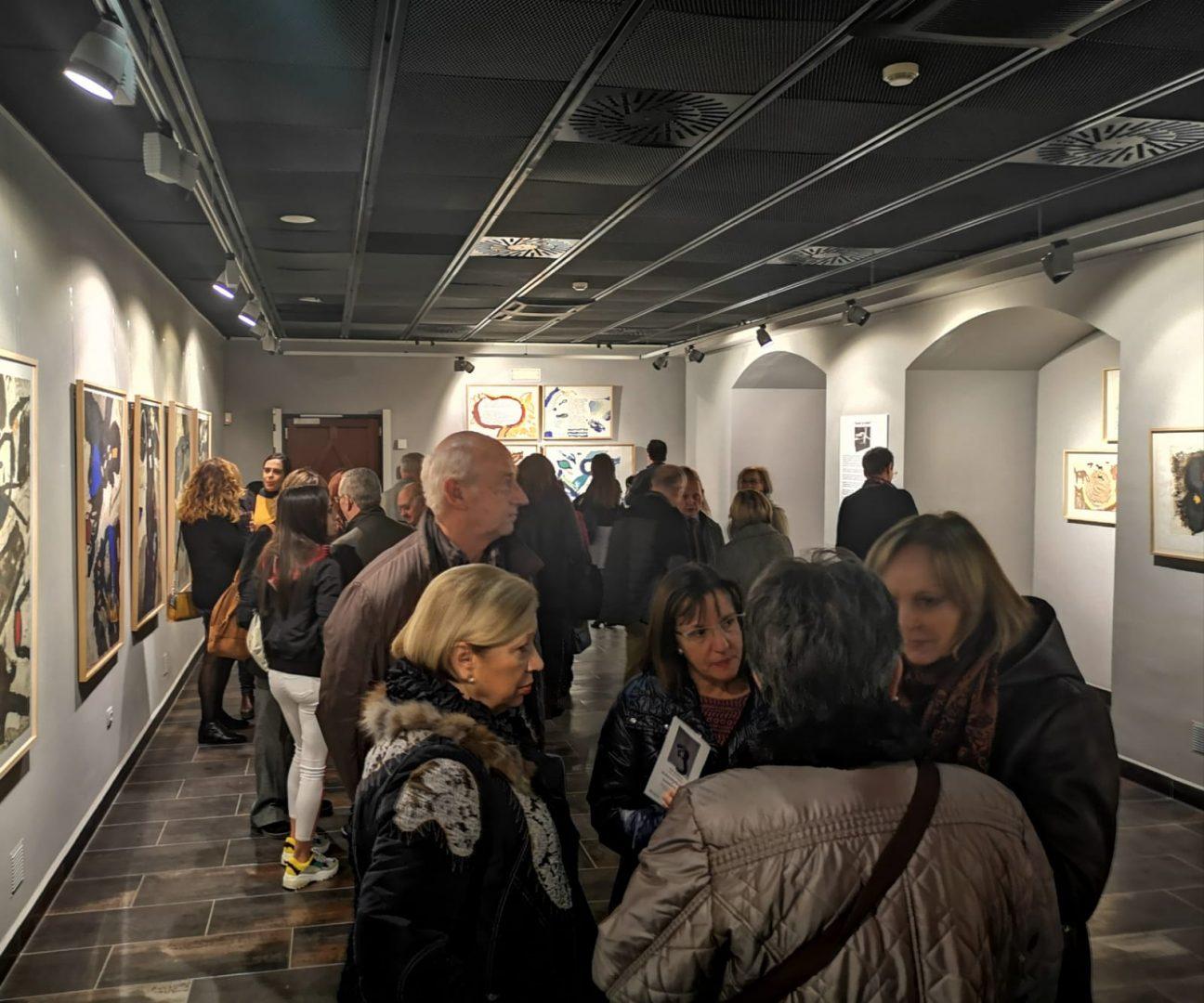 Fundación Caja Rural Áragón cierra temporada expositiva 10.000 visitantes