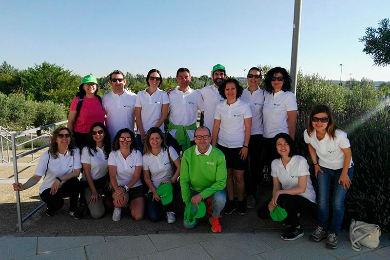 Caja Rural de Aragón participa en la VI Marcha contra el cáncer de Zaragoza
