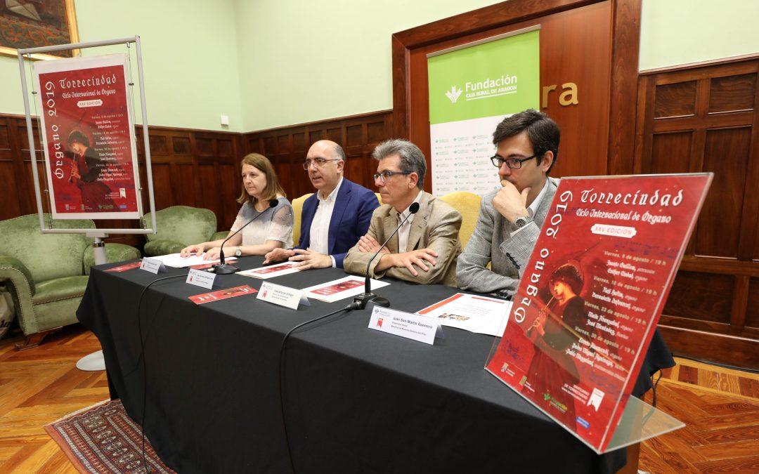 FUNDACIÓN  PATROCINA LA XXV EDICIÓN DEL  CICLO INTERNACIONAL DE ÓRGANO DE TORRECIUDAD