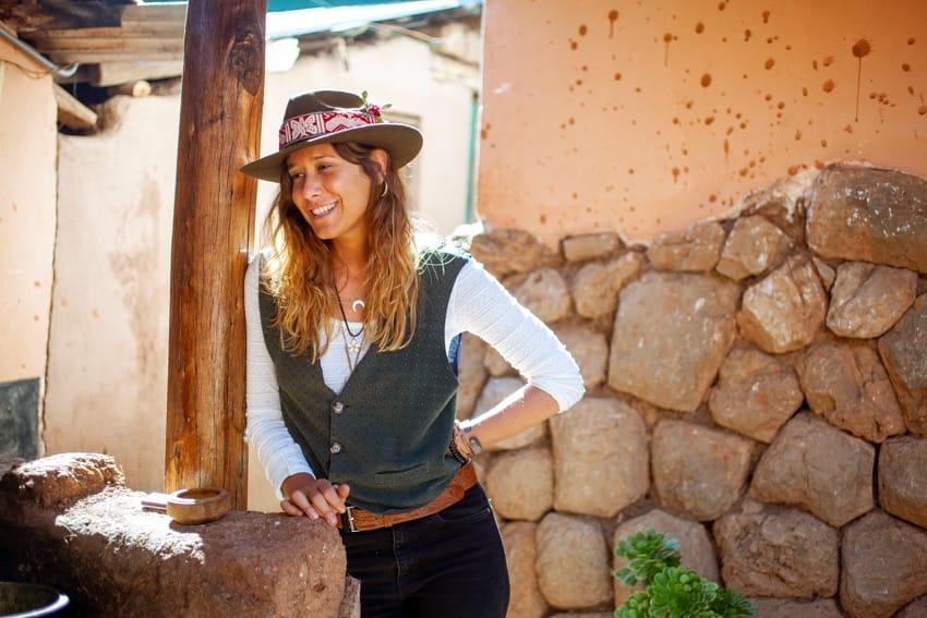 La pintora zaragozana Cristina Huarte prepara un nuevo proyecto expositivo para la Fundación Caja Rural de Aragón