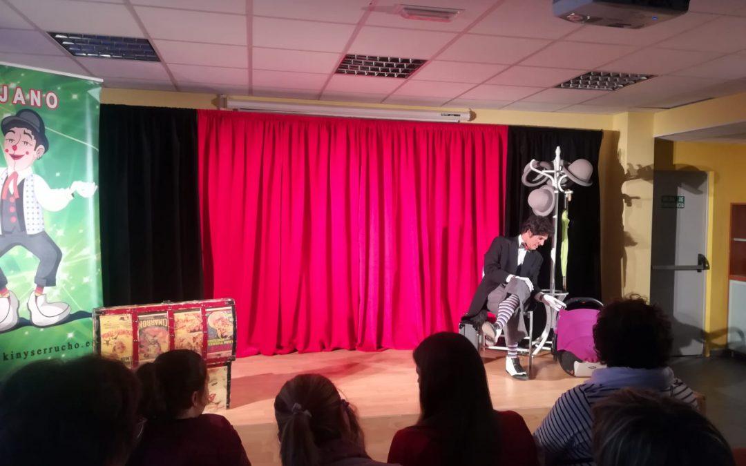 Fundación Caja Rural de Aragón impulsa el teatro clown en el medio rural con primera parada en Morata de Jalón