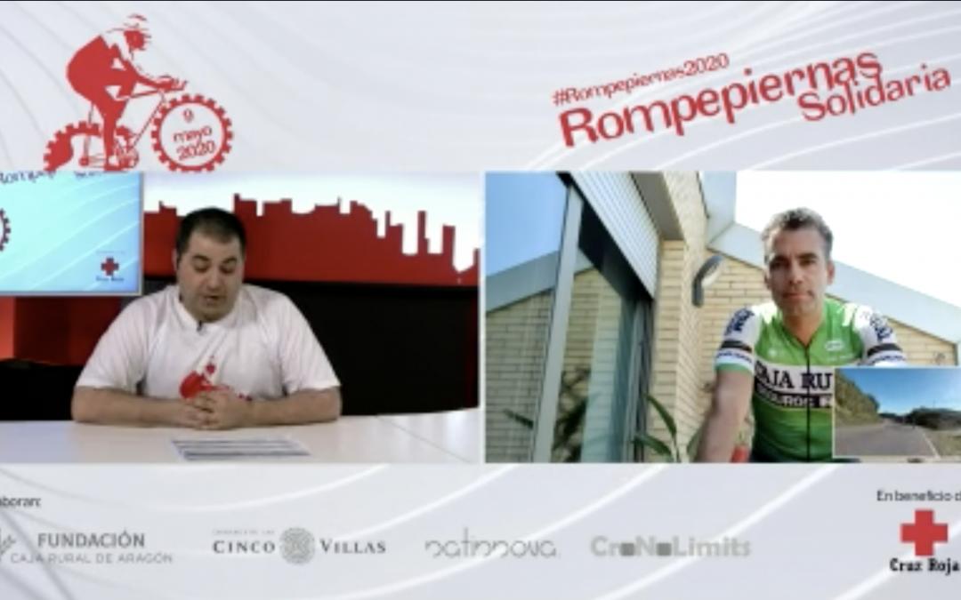Gran éxito de la Rompepiernas solidaria 2020 patrocinada por Fundación Caja Rural de Aragón