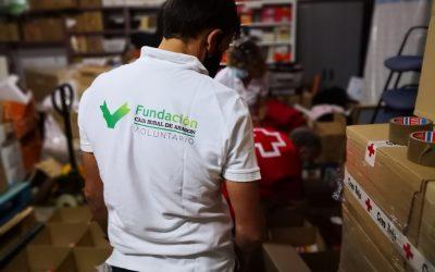 Caja Rural y Seguros RGA donan meriendas para 66 menores del programa de Intervención Familiar de Cruz Roja Huesca