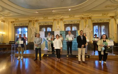 Fundación Caja Rural de Aragón hizo entrega de las Micro Ayudas 2020