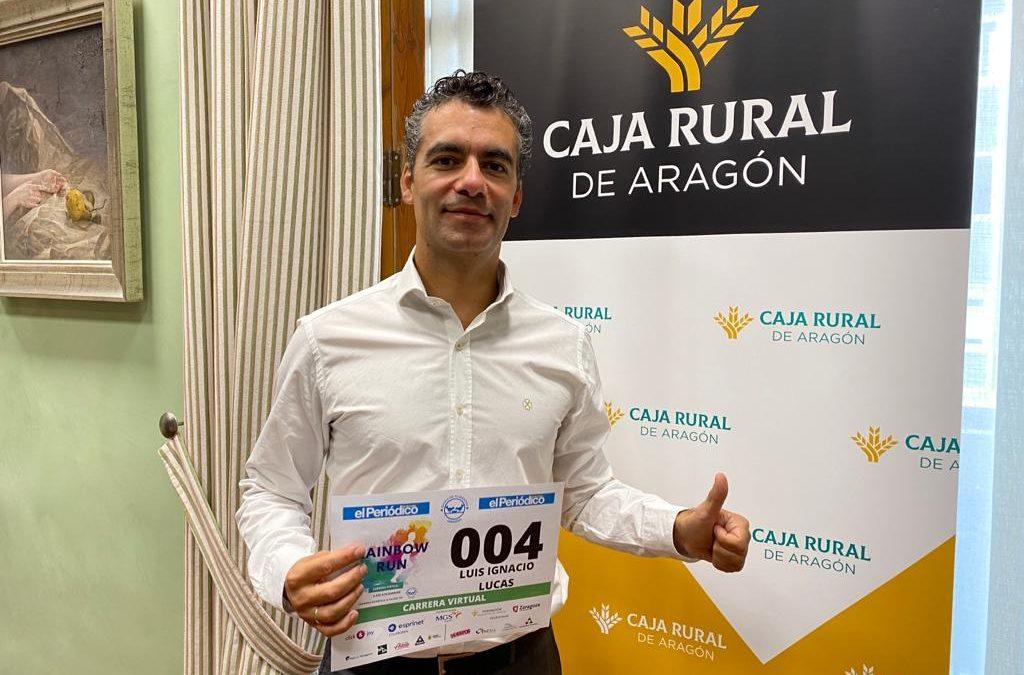La Rainbow Run solidaria contará con la participación del Presidente de la Fundación Caja Rural de Aragón