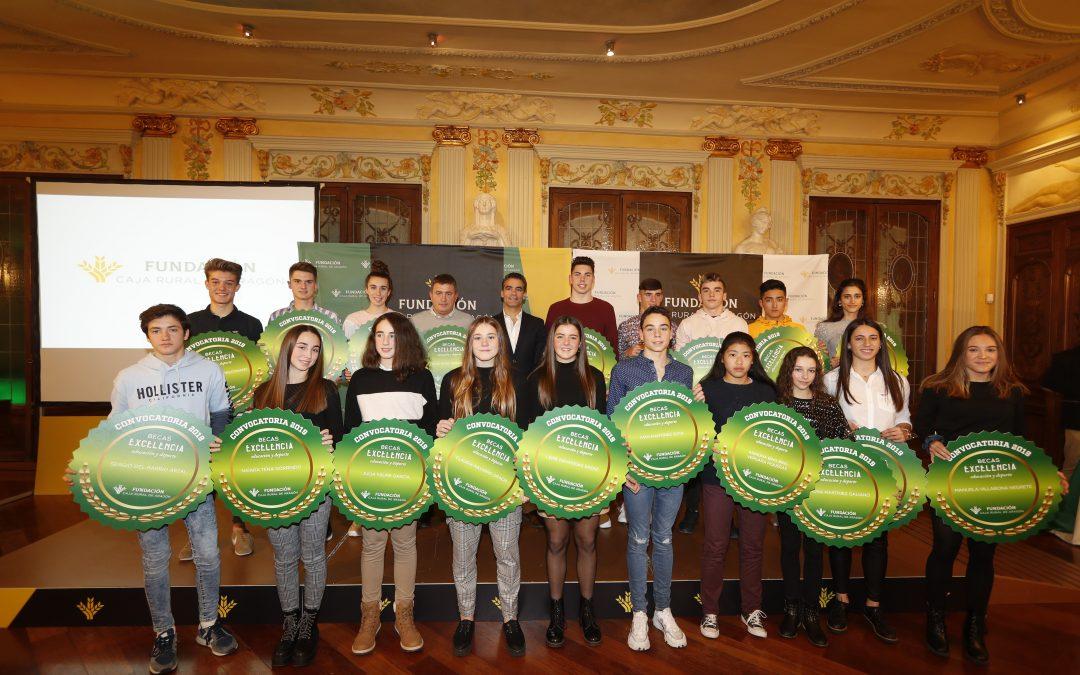 Cerca de 120 solicitudes a Beca Excelencia de Fundación Caja Rural de Aragón