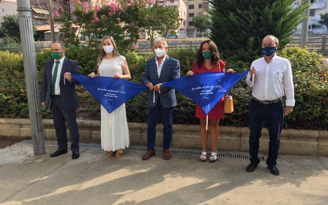 Barbastro presentó la Pañoleta Solidaria con la colaboración de la Fundación Caja Rural de Aragón