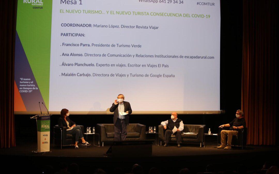 El II Congreso Mundial de Turismo Rural Sostenible patrocinado por Fundación Caja Rural de Aragón