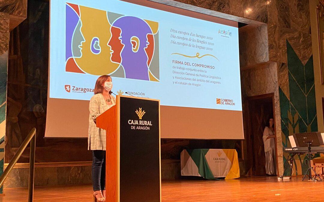 El aragonés se abre a la lírica en la celebración del Día Europeo de las Lenguas