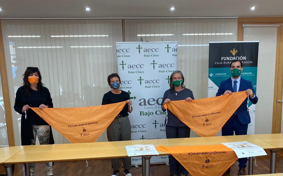 Fraga se suma a la campaña Pañoleta Solidaria de Fundación Caja Rural de Aragón