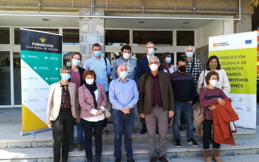 Jaca acogió la I Jornada sobre Producción Ecológica de Alimentos en Aragón