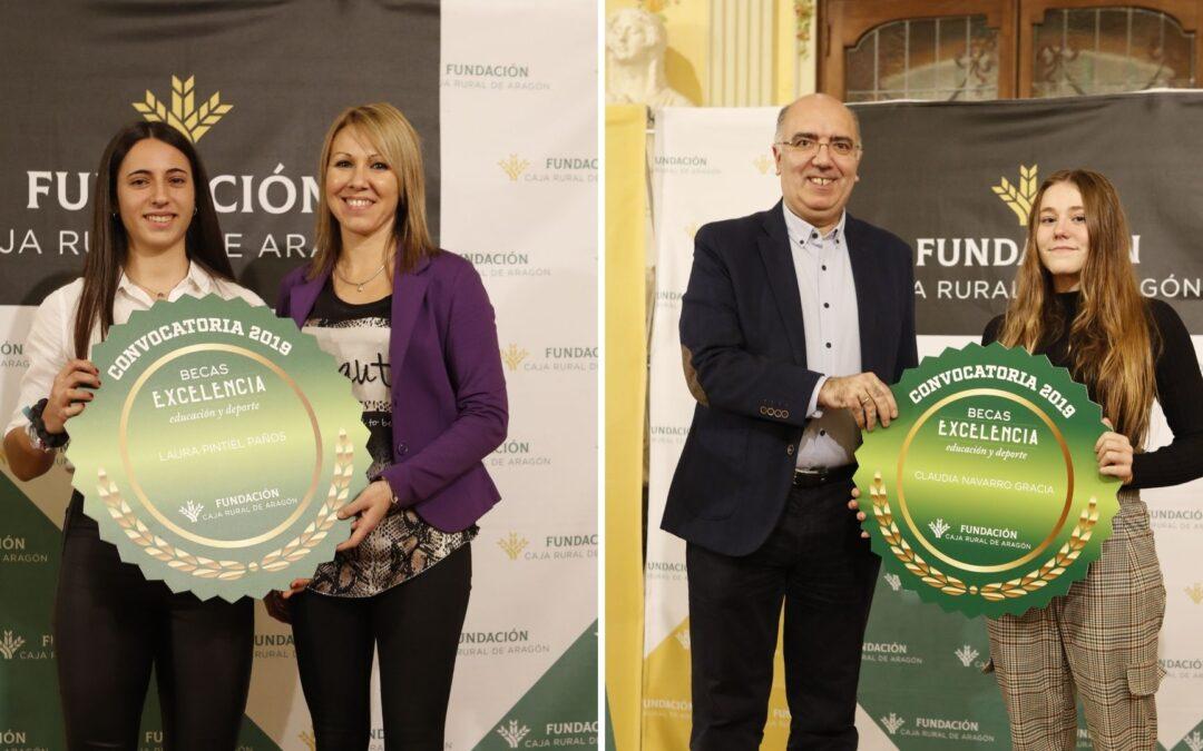 Veinte jóvenes excelentes recibirán la Beca Excelencia de Fundación Caja Rural de Aragón