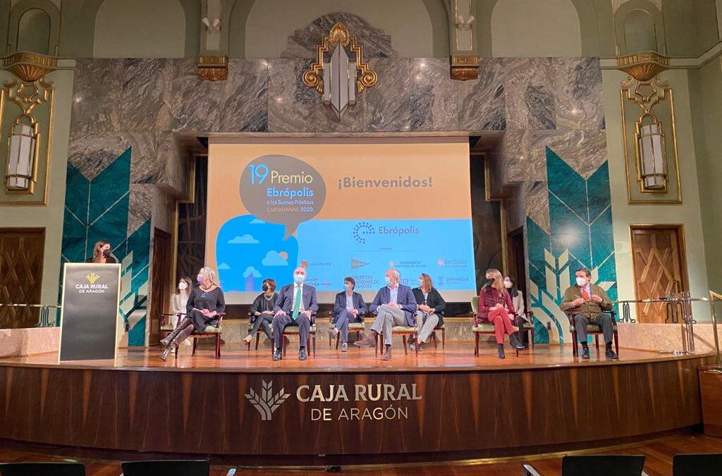 El Teléfono de la Esperanza ganó el XIX Premio Ebrópolis