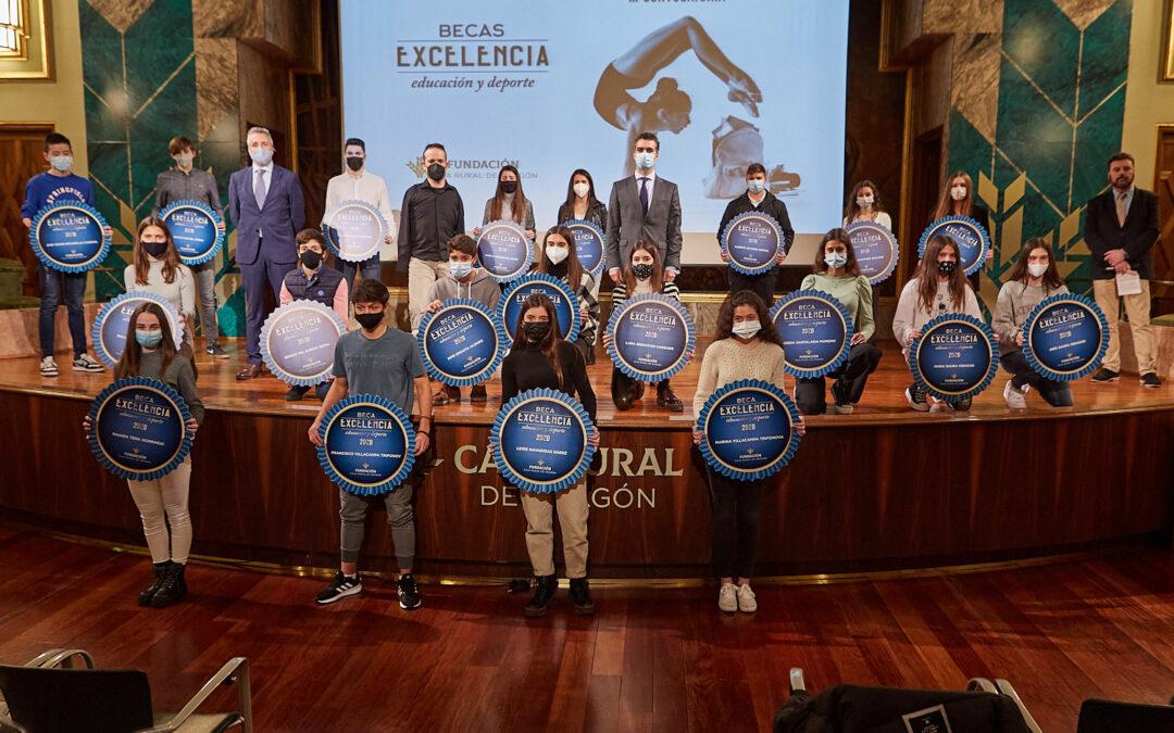 Fundación Caja Rural de Aragón entregó las Becas Excelencia
