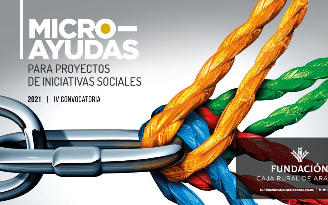 Convocada la IV Edición de las MicroAyudas de Fundación Caja Rural de Aragón