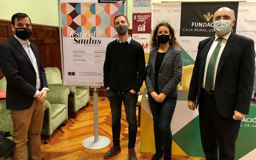 Nace el Festival Saulus en Zaragoza para reivindicar la música vocal