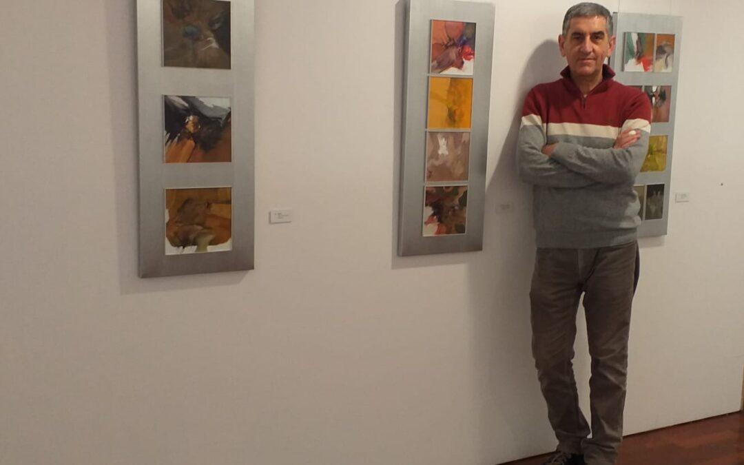 Los Biotopos de Paulino Vela se muestran en la sala Caja Rural de Aragón de Huesca