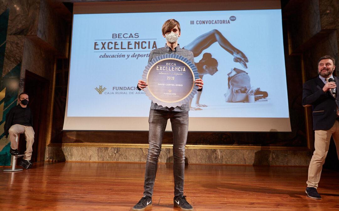 David Cartiel, Beca Excelencia de nuestra Fundación, logra un récord mundial