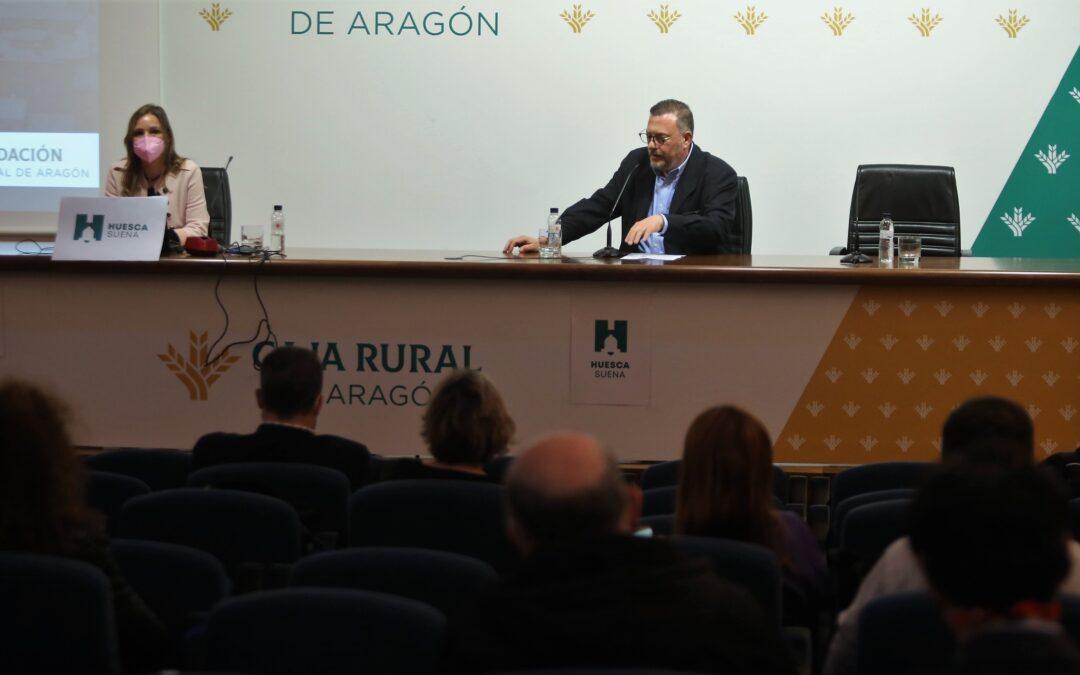 Presentado el Barómetro Oscense 2021 en Caja Rural de Aragón