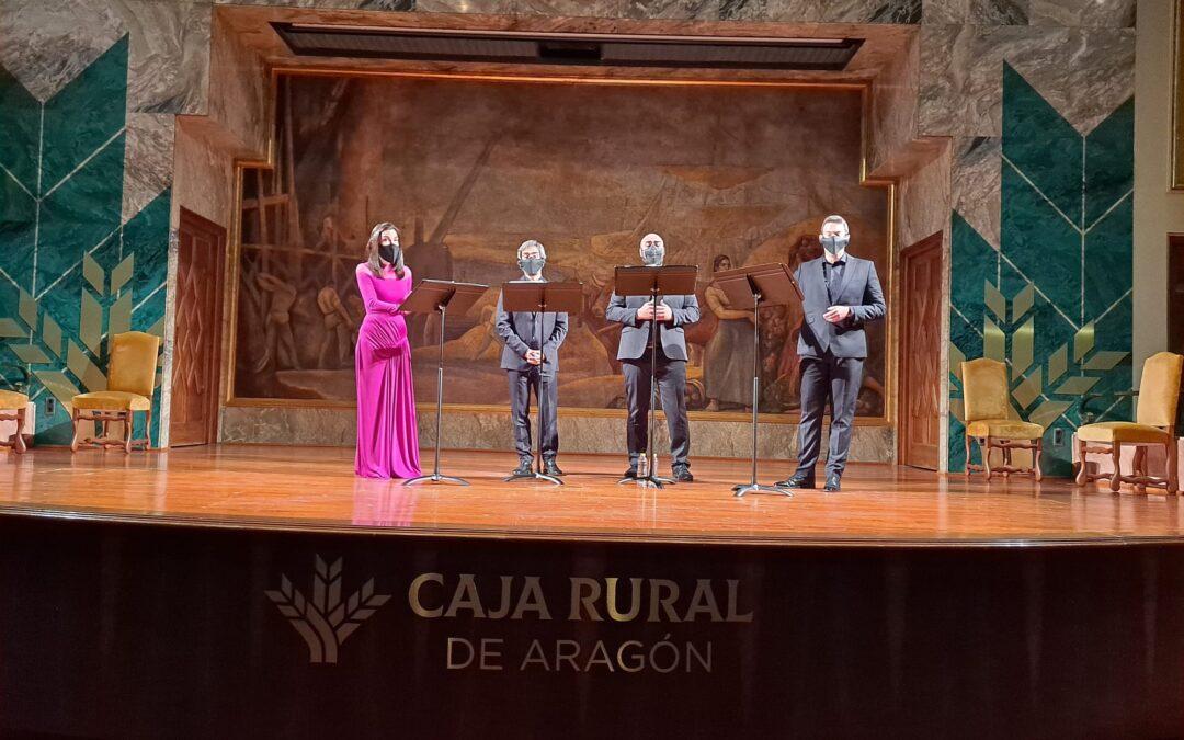 Vandalia despliega su magia en la joya modernista de Zaragoza