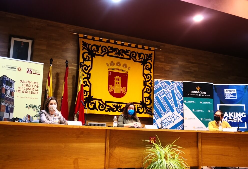 Inaugurado el Salón del Libro de Villanueva de Gállego con la colaboración de nuestra Fundación