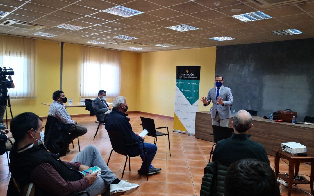 Nuestra Fundación imparte en Borja formación para cooperativas agroalimentarias.