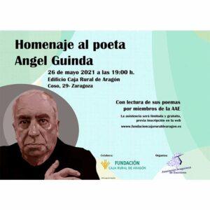 homenaje poeta angel guinda