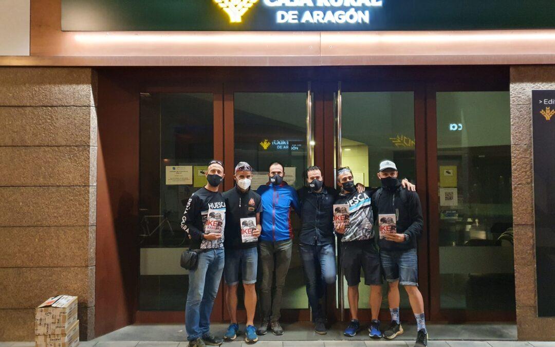 Iker cabeza de carrera fue presentado en el Salón de Actos de Caja Rural de Aragón de Huesca