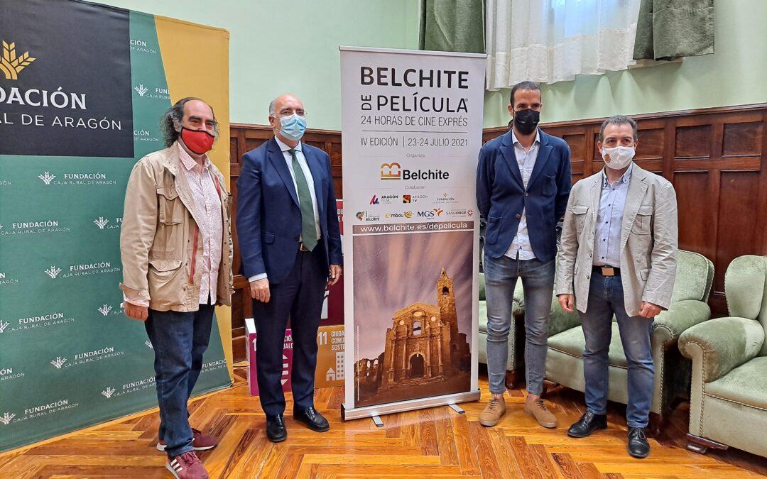 Nuestra Fundación colabora en la IV Edición de Belchite de Película