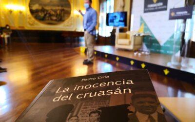 """Pedro Ciria presenta """"La inocencia del cruasán"""" en Caja Rural de Aragón"""