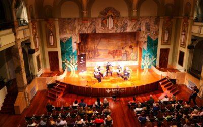 Musethica clausuró el VIII Festival Internacional de Música de Cámara en Caja Rural de Aragón