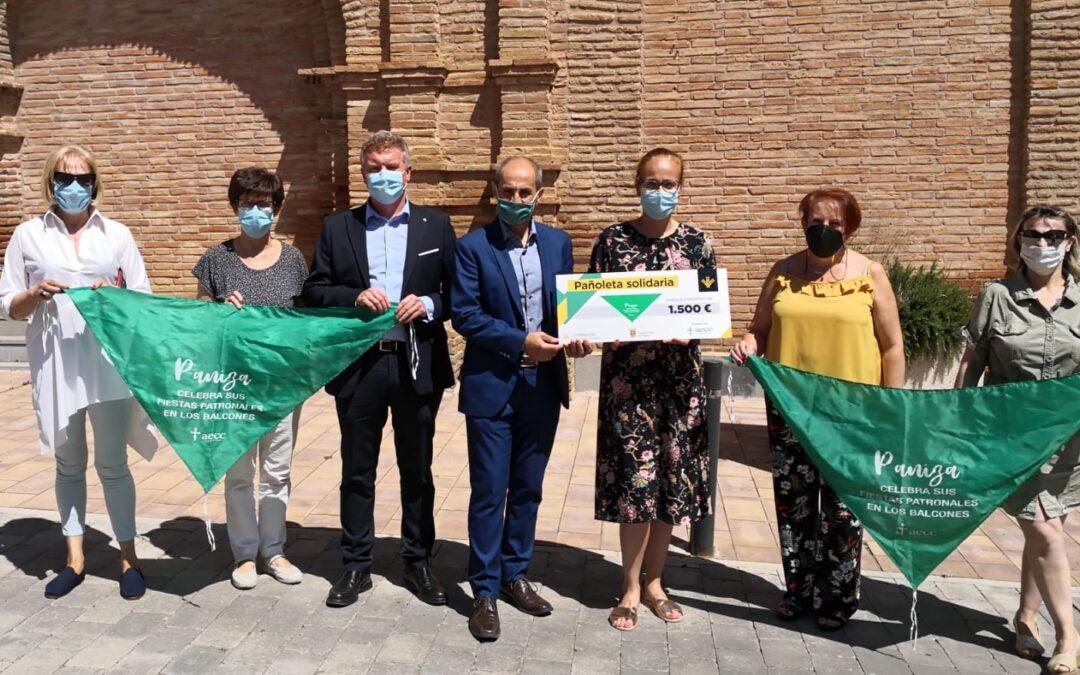 Paniza logra 1.500,00 € con la Pañoleta Solidaria
