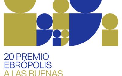Convocado el 20 Premio Ebrópolis a las buenas prácticas ciudadanas 2021