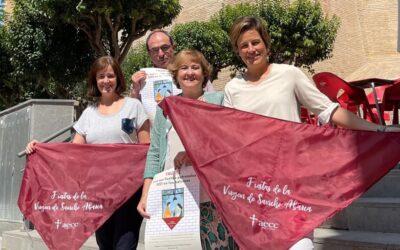 La Pañoleta Solidaria regresa a Tauste impulsada por nuestra Fundación