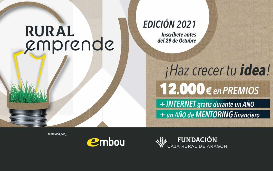 Embou y Fundación Caja Rural de Aragón premian el emprendimiento en el medio rural aragonés